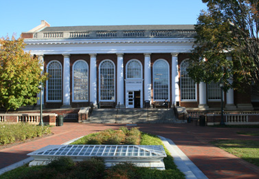 The Alderman Library at the University of Virginia